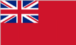 Red Ensign Large Flag - 5' x 3'.